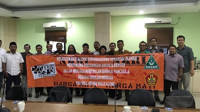 Aktivis 98 Atma Jaya Dukung Ansor Cegah Disintegrasi Bangsa Walau Diancam