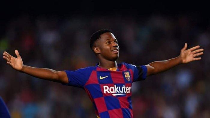 Ansu Fati Pecah Kebuntuan, Babak Pertama Barcelona vs Leganes 1-0