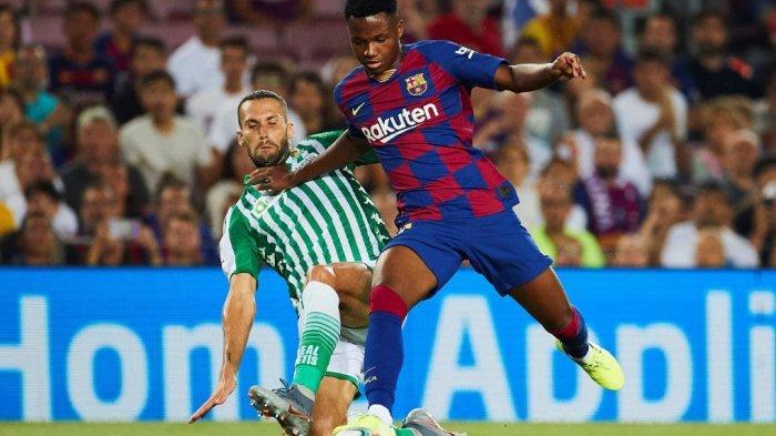 Starting XI dan Link Live Streaming Barcelona vs Granada, Ansu Fati Starter Bersama Messi-Griezmann