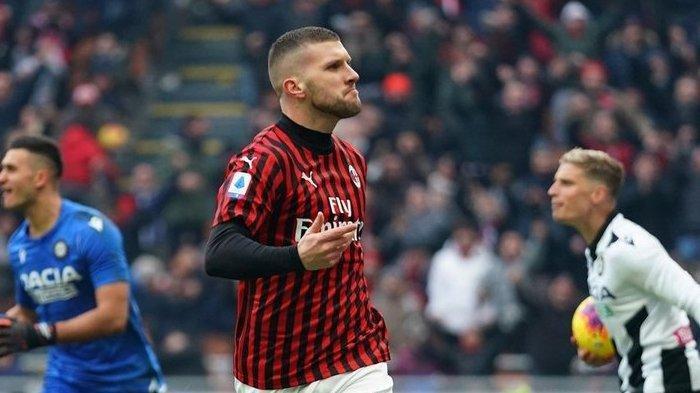 Sedang Berlangsung Juventus vs AC Milan 1-1, Gol Sundulan Kepala Ante Rebic Gagalkan Kemenangan Juve