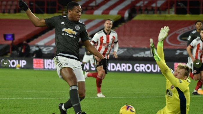 Hasil Liga Inggris, Sheffield United vs Manchester United 2-3, Setan Merah Merangsek ke Papan Atas