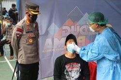 Kecamatan Ciledug Gelar Swab Tes Antigen Pemudik dan Pengunjung di Pusat Perbelanjaan Borobodur