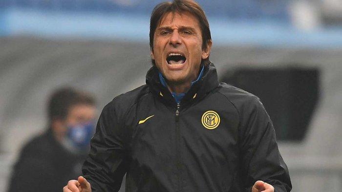 Pelatih Inter Milan, Antonio Conte,
