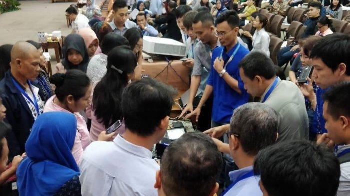 Ratusan Wajib Pajak Diberikan Pemahaman Online Sistem di Kantor Walikota Jakarta Barat