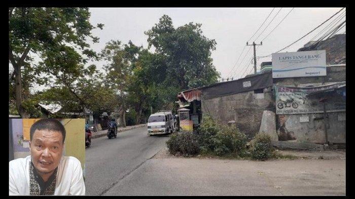 Rumah di Tengah Jalan Milik Anwar Hidayat akan Digusur Lalu Dibangun Flyover Stasiun Poris oleh PUPR