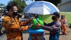 Gerakan ASN Berbagi, Pemkab Bekasi Salurkan 5.150 Paket Sembako kepada Warga & PKL Terdampak Pandemi