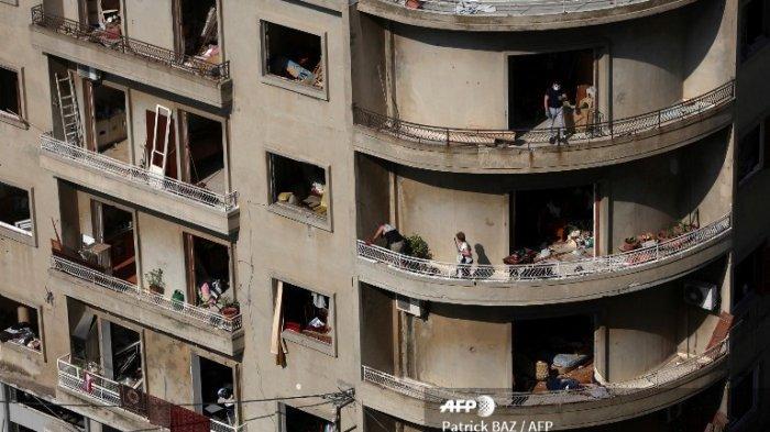 Laporan Terbaru: Akibat Ledakan Maha Dahsyat di Beirut, 40 Persen Infrastruktur Ibu Kota Remuk Parah