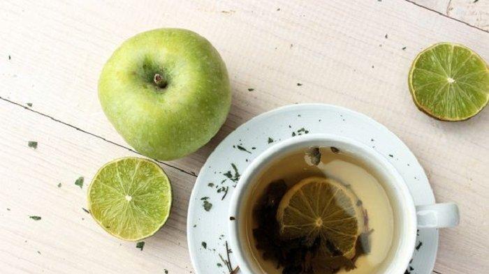 Flavonoid dalam Apel dan Secangkir Teh Hijau Mencegah Serangan Jantung dan Kanker