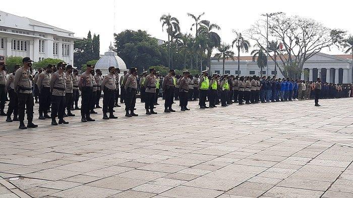 Tiga Pilar Jakarta Barat Kerahkan 1.250 Personel Gabungan untuk Mengamankan Lebaran
