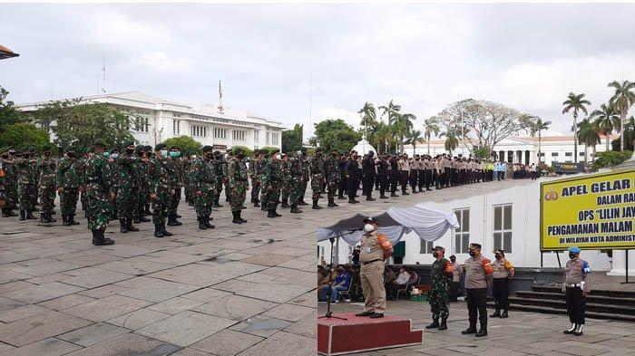 VIDEO Malam Tahun Baru 2021, 742 Petugas di Jakarta Barat Siap Bubarkan Kerumunan