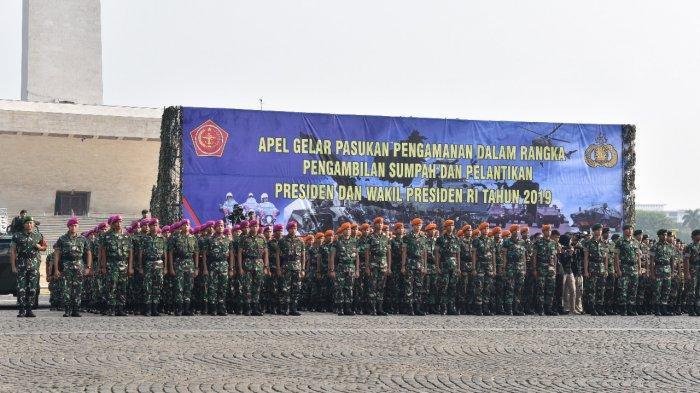 Ditutup karena Ada Pelantikan Jokowi-Maruf Amin, Monas Jadi Tempat Sterilisasi Tamu Istana