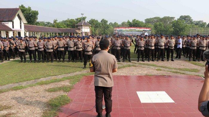 Kampanye Pilkades Serentak di Kabupaten Tangerang, Anggota Dilarang Bawa Senjata Api