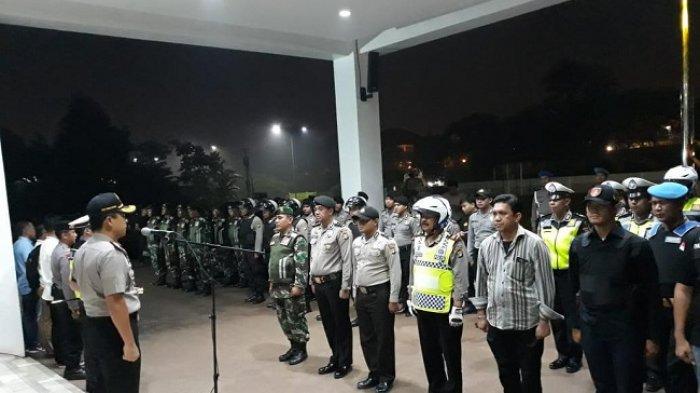 Polres Tangerang Selatan dan TNI Gelar Patroli Cegah Kejahatan Selama Ramadan