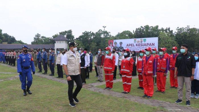 Pemkab dan Polresta Tangerang Gelar Apel Tanggap Bencana untuk Antisipasi Banjir