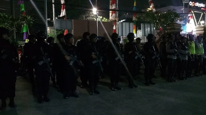 Polres Metro Jakarta Timur Lakukan Patroli Skala Besar