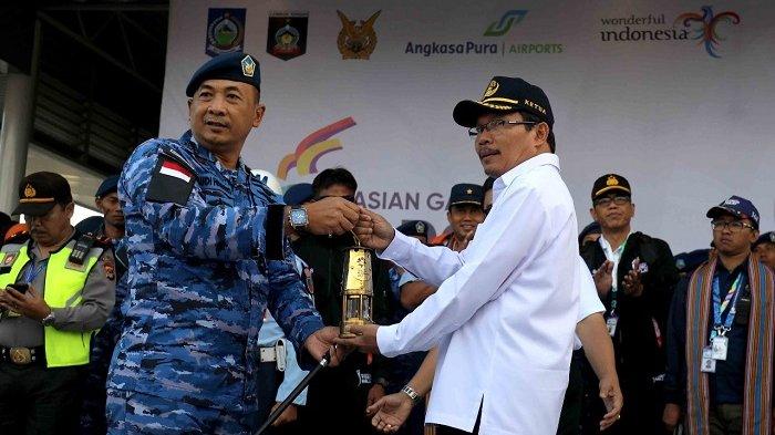 Obor Asian Games Tiba di Lombok