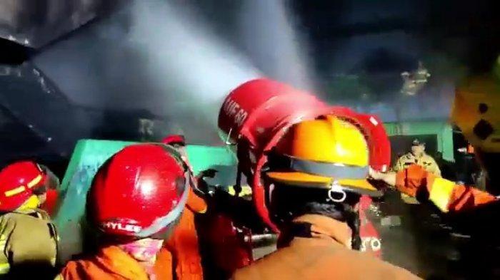 UPDATE Kebakaran Pasar Minggu, Pedagang Blok C Pasar Inpres Derita Rugi Ratusan Juta