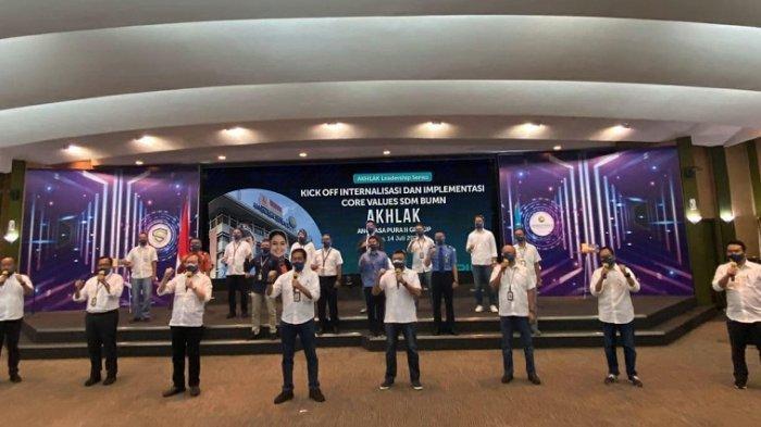 AKHLAK Perkuat Nilai Perusahaan Angkasa Pura II Group Dalam Menjaga Konektivitas Penerbangan