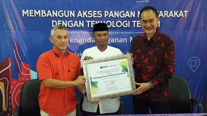 Foodbank of Indonesia dan Esri Indonesia Meluncurkan Aplikasi ArcGIS Bantu Kurangi Bayi Gizi Buruk