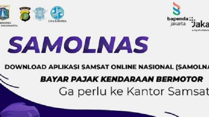 Tak Perlu Ke Samsat Download Aplikasi Samsat Online Nasional Samolnas Begini Cara Menggunakannya Warta Kota
