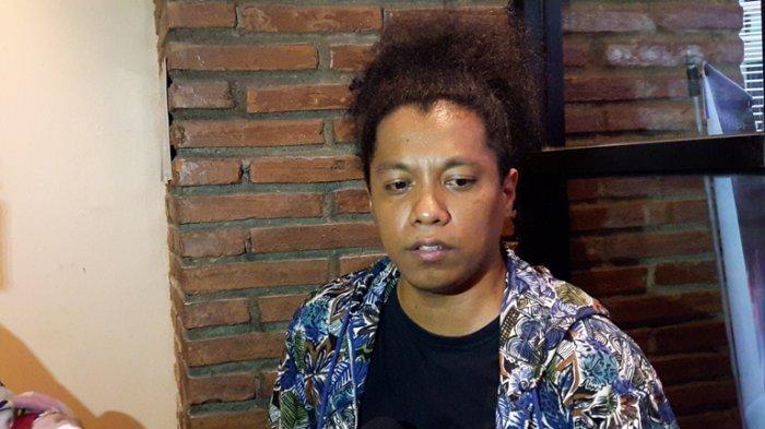 Komedian dan pemain film Arie Kriting dijumpai di Kuningan, Jakarta Selatan, Sabtu (2/11/2019).