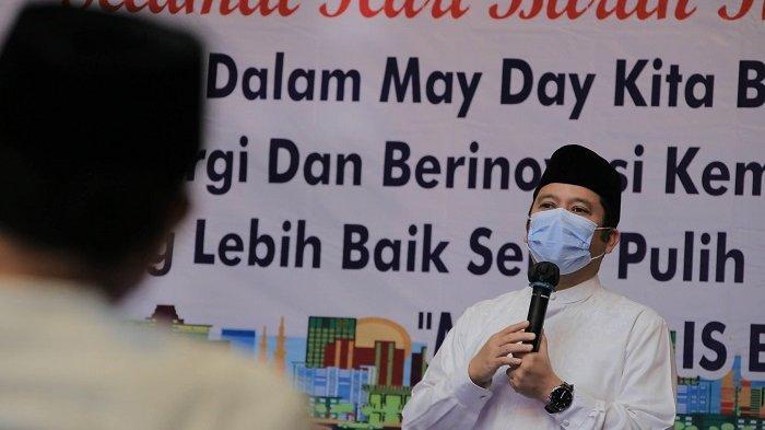 Arief R Wismansyah Minta Buruh Kota Tangerang Patuhi Aturan Pemerintah Larangan Mudik Lebaran
