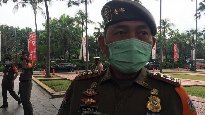 Satpol PP DKI Menutup Dua Tempat Karaoke di Jakarta Barat yang Beroperasi saat PPKM Mikro