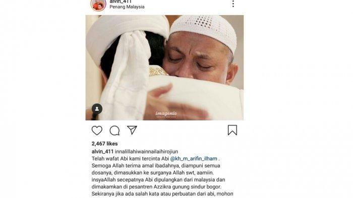 BREAKING NEWS: Ustadz Arifin Ilham Meninggal Dunia di Malaysia, Inilah Sakitnya