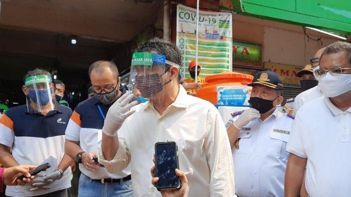 12 Pasar di Jakarta Dinyatakan Jadi Klaster Penyebaran Covid-19, Hasil Dari Uji Tes Swab 33 Pasar