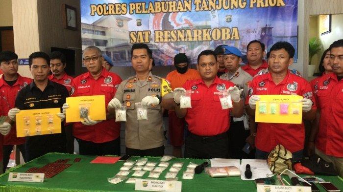Polisi Berhasil Menggagalkan Peredaran Narkoba Miliaran Rupiah