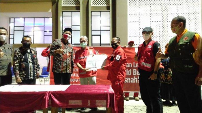 Tekan Kasus Covid-19, Palang Merah Indonesia Operasikan Delapan Armada Gunner di Jawa Tengah
