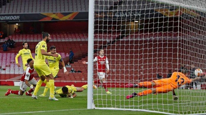 Gagal Cetak Gol ke Gawang Villareal, Arsenal Tersingkir dari Liga Europa, Final Villareal vs MU