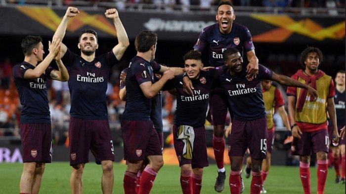 Arsenal Melenggang ke Final Liga Europa Usai Membombardir Valencia 4-2