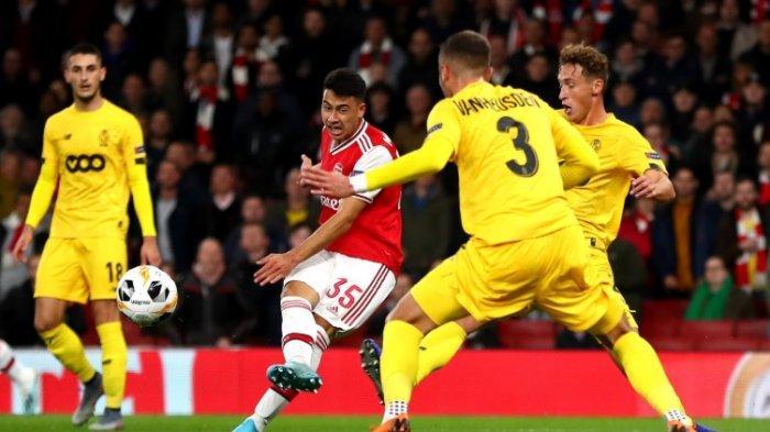 Anak Muda Arsenal Unjuk Gigi di Ajang Liga Europa, Taklukkan Standard Liege 4-0