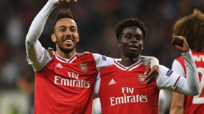 Live Streaming Liga Inggris Brighton vs Arsenal, Peluang Aubameyang Pecahkan Rekor Thierry Henry