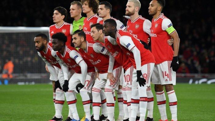 Live Streaming Liga Inggris Arsenal Vs Leicester City di Mola TV, Main Rabu Dini Hari Ini