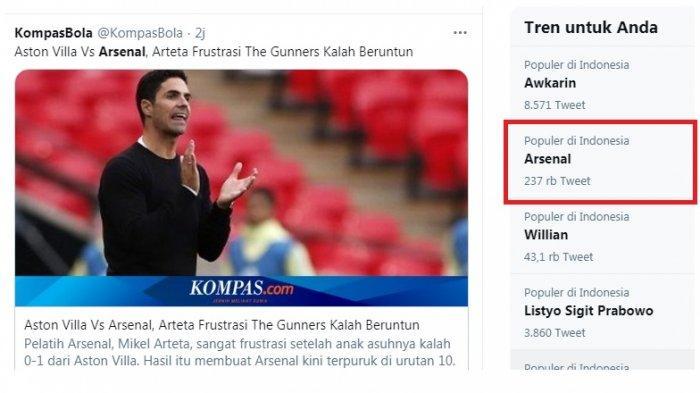 Arsenal Trending, Mikel Arteta Akui Frustasi dengan Pemainnya, Tampil Dominan Namun Selalu Kalah