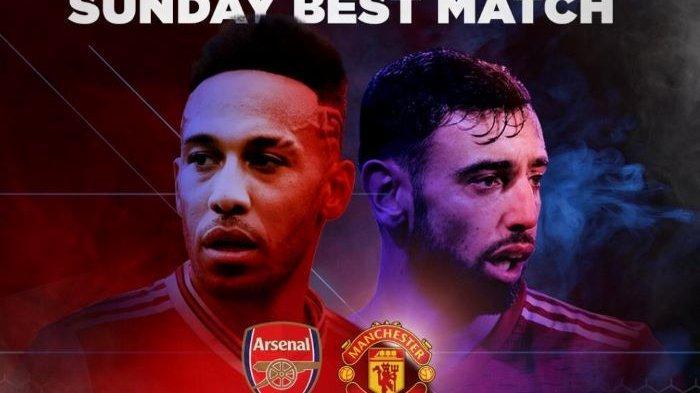 Jadwal Liga Inggris Pekan 21, Live Streaming dan Prediksi Arsenal vs Manchester United Live Net TV
