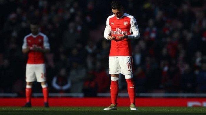 Live Streaming Liga Inggris Brighton Vs Arsenal, Mikel Arteta Bakal Turunkan Mesut Ozil?