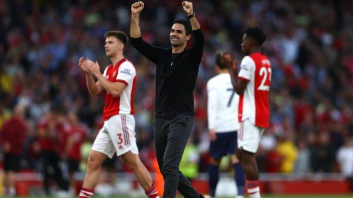 Hasil Lengkap dan Klasemen Terbaru Liga Inggris, Arsenal vs Spurs 3-1, Arteta: Kemenangan untuk Fans