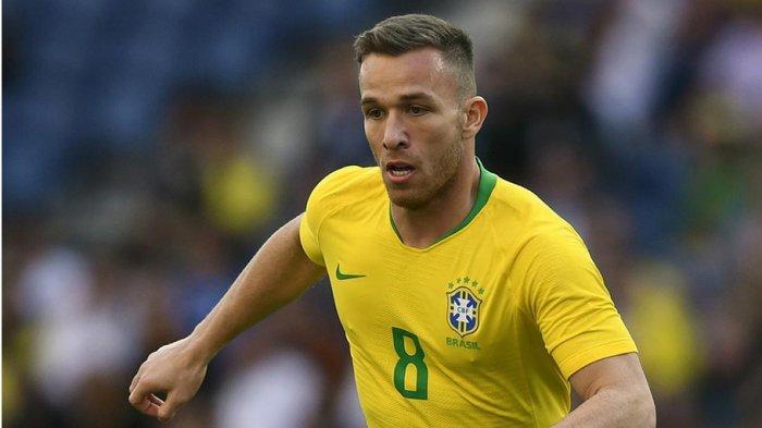 Arthur Melo Cetak Gol Perdananya Untuk Timnas Brasil Dan Kalahkan Uruguay 2-0