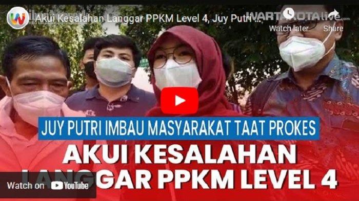 Didenda Rp 89 Juta, Juy Putri & Hotel Aston Imperial Jadi Penyumbang Terbesar Denda PPKM Kota Bekasi