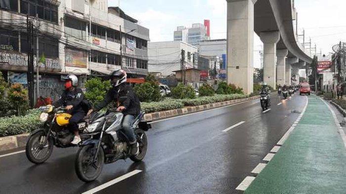 Arus Lalin di Jalan RS Fatmawati Raya Ramai Lancar Pukul 14.20