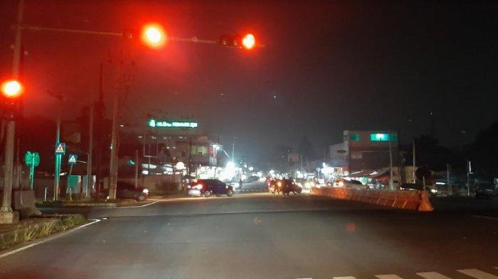 Arus Lalu Lintas di Jalan Raya Beji menuju Bojonggede Malam Ini Tak Ada Hambatan