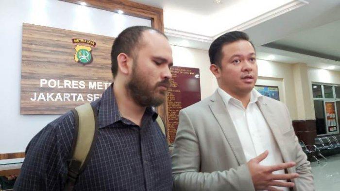 Suami Karen Pooroe Bungkam Saat Ditanya Pemeriksaan Kedua di Polres Metro Jakarta Selatan