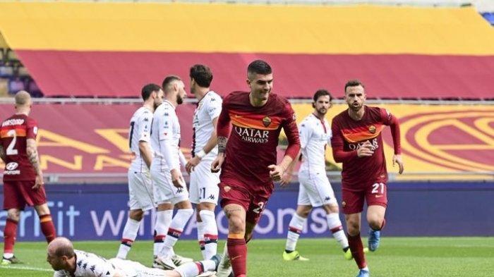 Hasil Liga Italia AS Roma 1-0 Genoa: Skuad Giallorossi Berhasil Kudeta Posisi Atalanta di Klasemen
