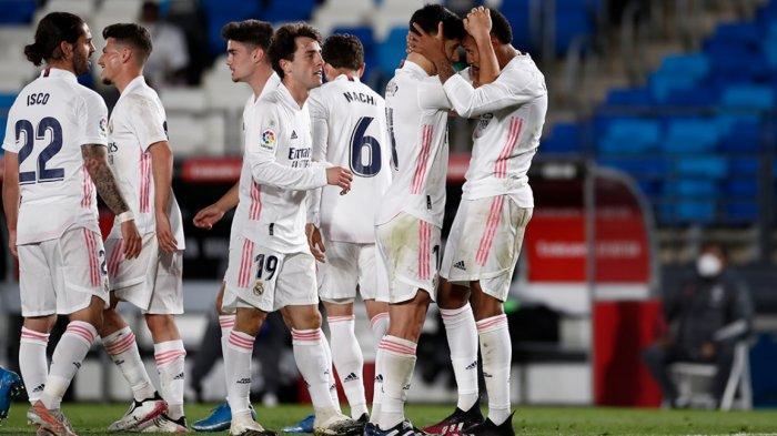 Hasil Real Madrid vs Osasuna 2-0, Zidane Lega, El Real Tetap Jaga Asa Menjadi Juara La Liga