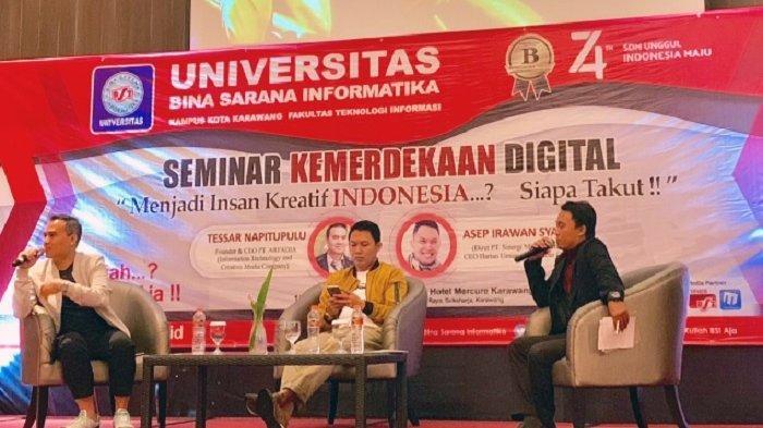 Generasi Muda Indonesia Harus Jadi Insan Kreatif dan Ciptakan Lapangan Pekerjaan