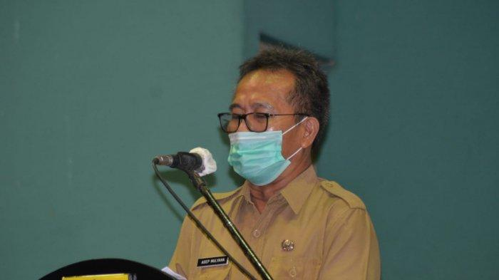 Sektor UMKM Lesu, Asep Mulyana Minta Koperasi Jadi Garda Terdepan Pemulihan Ekonomi Kabupaten Bogor
