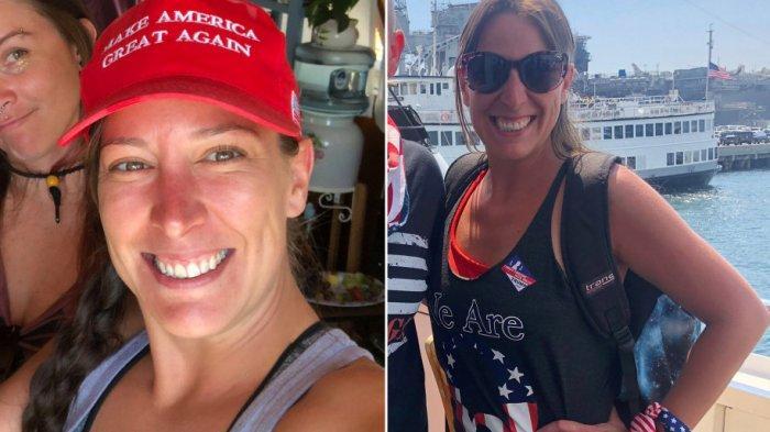 Ashli Babbitt, pendukung Donald Trump yang tewas dalam demo ricuh di Capitol Hill ternyata seorang dokter hewan tentara AS.